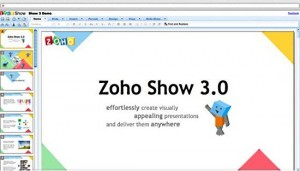 Zoho-Show